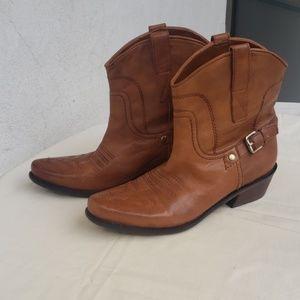Franco Sarto Cowboy Booties